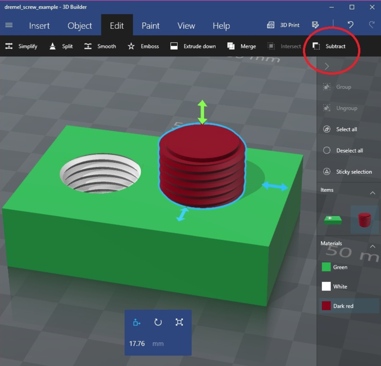 Capture d'écran 2017-10-07 à 18.44.06.png Download free STL file M19-2 Rotary Tool Thread • Design to 3D print, MGX