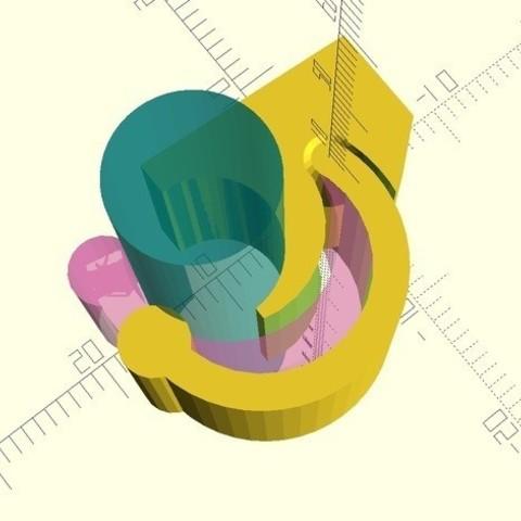 ee8e8c72eef3419ee259a710375fac69_preview_featured.jpg Télécharger fichier STL gratuit Fermoir à baguette • Plan pour impression 3D, MGX