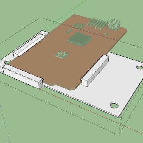 STL gratuit Support Arduino mega, Miaouss10