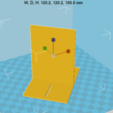 Capture d'écran 2017-10-17 à 09.53.15.png Download free STL file Customizable Book Greenhouse • 3D print template, Med