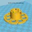 Descargar Modelos 3D para imprimir gratis carrete de cable USB, Med