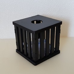 20190729_155308.jpg Download free STL file THE SILICA BOX (ANTI-HUMIDITE) • 3D printable object, Med