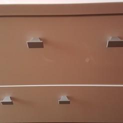 STL mando Tirador de mueble gratis, Med