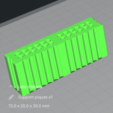 Descargar Modelos 3D para imprimir gratis Porta-horquillas/porta-horquillas apero, Med