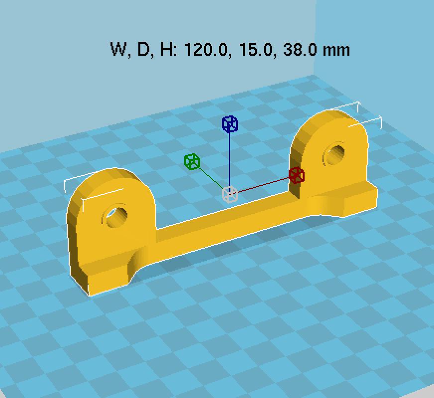 Capture d'écran 2017-11-13 à 10.38.31.png Download free STL file Adjustable spool support • 3D printer model, Med