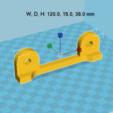 Descargar diseños 3D gratis bobina de soporte ajustable, Med
