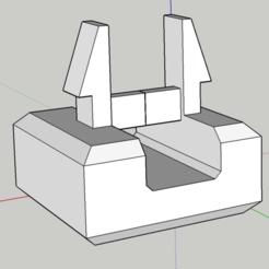Free 3d printer designs Ventilation Window / Door Window Caps, Med