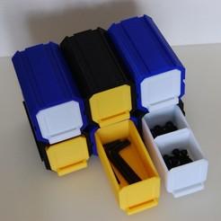 Descargar STL gratis Almacenamiento modular de cajones (Med's Drawers), Med