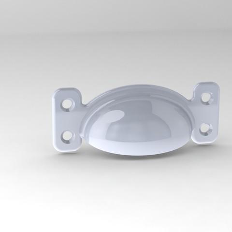 Greb 3.JPG Download STL file Drawer Pull • 3D printable object, Foerris