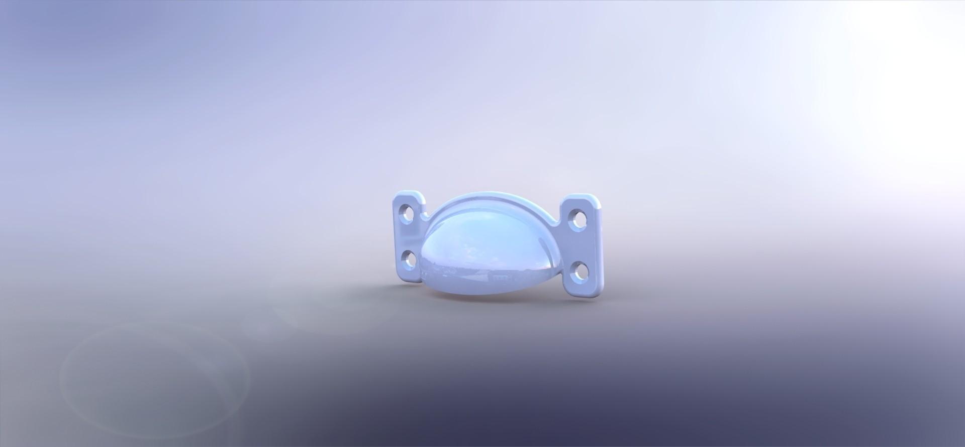Greb 2.JPG Download STL file Drawer Pull • 3D printable object, Foerris