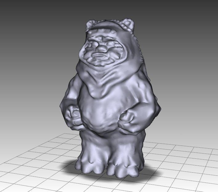 EWOK_001.jpg Télécharger fichier OBJ gratuit EWOK FIGURE • Plan pour impression 3D, Masterclip