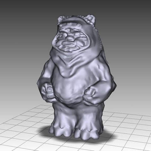 Download free 3D printing models EWOK FIGURE, Masterclip
