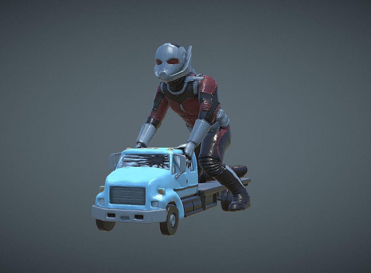capture_05072018_175009.jpg Download OBJ file ANT-MAN 2 INSPIRITED MODEL • 3D print template, Masterclip