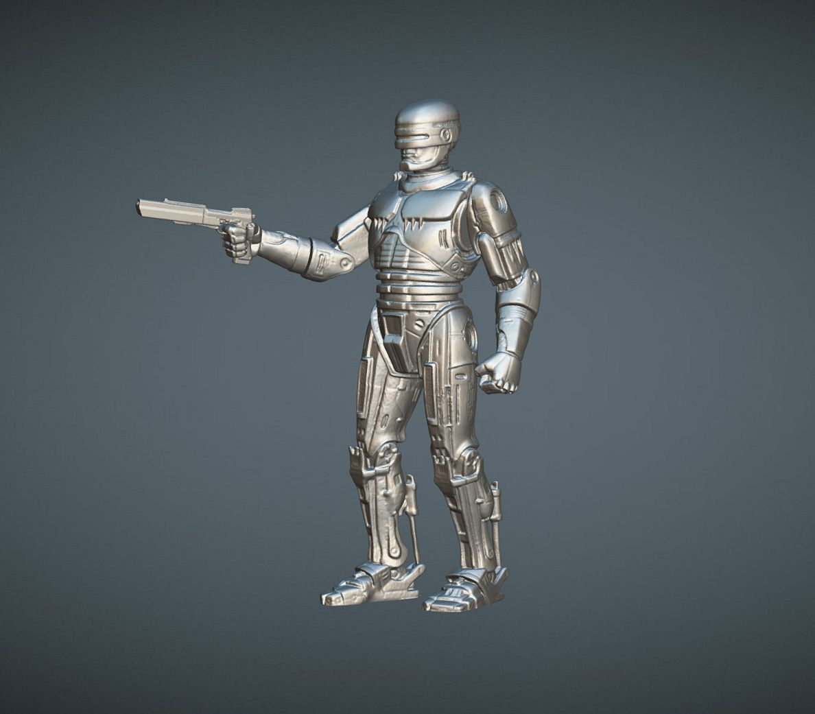 CAPTURE_007.jpg Download STL file ROBOCOP INSPIRITED FIGURE • Design to 3D print, Masterclip