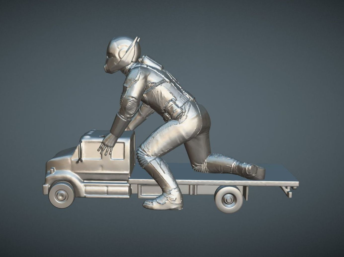 capture_05072018_175038.jpg Download OBJ file ANT-MAN 2 INSPIRITED MODEL • 3D print template, Masterclip