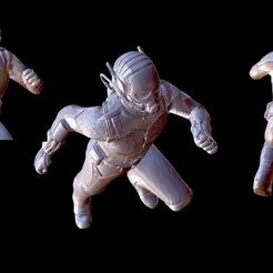 Free 3D print files Ant-Man figure, Masterclip