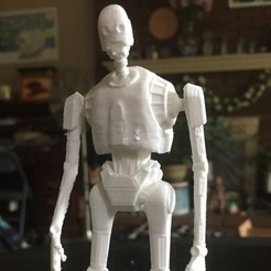 Download free 3D printer designs K-2SO 3D MODEL (SIMPLE VERSION), Masterclip