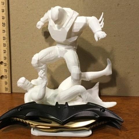 002.jpg Download free OBJ file BATMAN VS SUPERMAN • 3D printing design, Masterclip