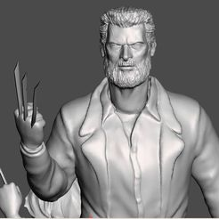 3D file LOGAN AND X23 INSPIRITED DIORAMA, Masterclip