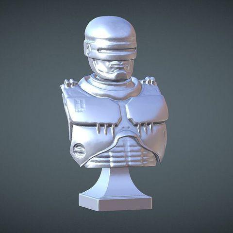 Archivos 3D gratis BUSTO LIBRE INSPIRADO EN ROBOCOP, Masterclip