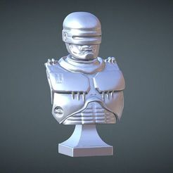 Download free 3D printer templates ROBOCOP INSPIRITED FREE BUST, Masterclip