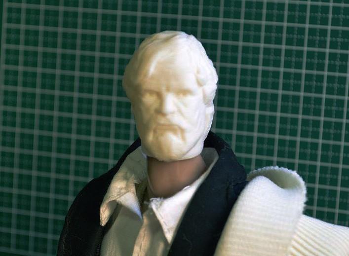 HEAD_FOR_1-6.jpg Download STL file LAST JEDI OLD LUKE HEAD FOR FIGURES V1 • 3D printing object, Masterclip