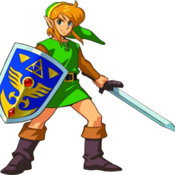 Free LINK FROM ZELDA SPLITED STL file, Masterclip