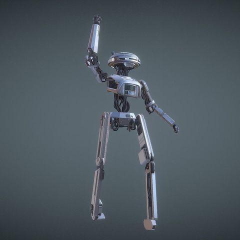 3d Printing Model L3 37 Inspirited Droid Robot Figure ・ Cults