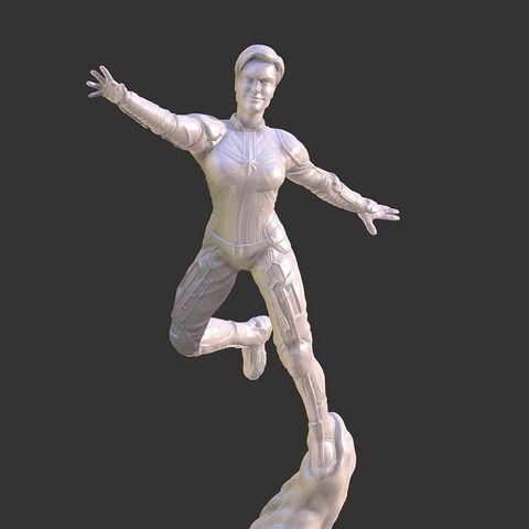 3D print model CAPTAIN MARVEL ENDGAME INSPIRITED FIGURE, Masterclip
