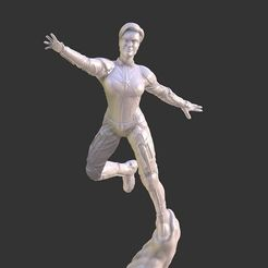 3D print model CAPTAIN MARVEL ENDGAME INSPIRITED FIGURE, Masterclip