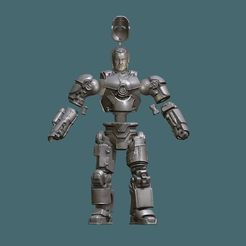 capture_05012020_223233.jpg Download STL file IRONMAN MARK 1  • 3D printer object, Masterclip