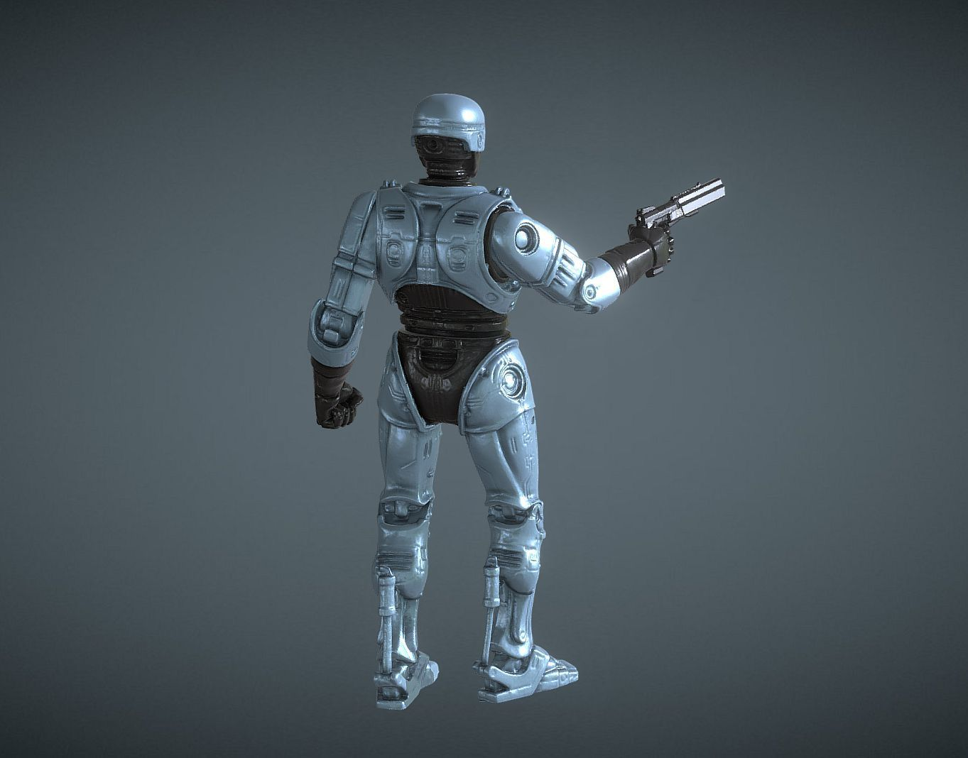 CAPTURE_004.jpg Download STL file ROBOCOP INSPIRITED FIGURE • Design to 3D print, Masterclip