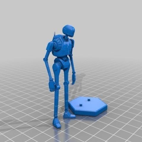 c93f19bd3347c5cbeb69d0f2ca2be0a4_preview_featured.jpg Download free OBJ file K-2SO 3D MODEL (SIMPLE VERSION) • 3D printing object, Masterclip