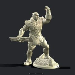 Download 3D printer model THANOS INSPIRITED FIGURE, Masterclip