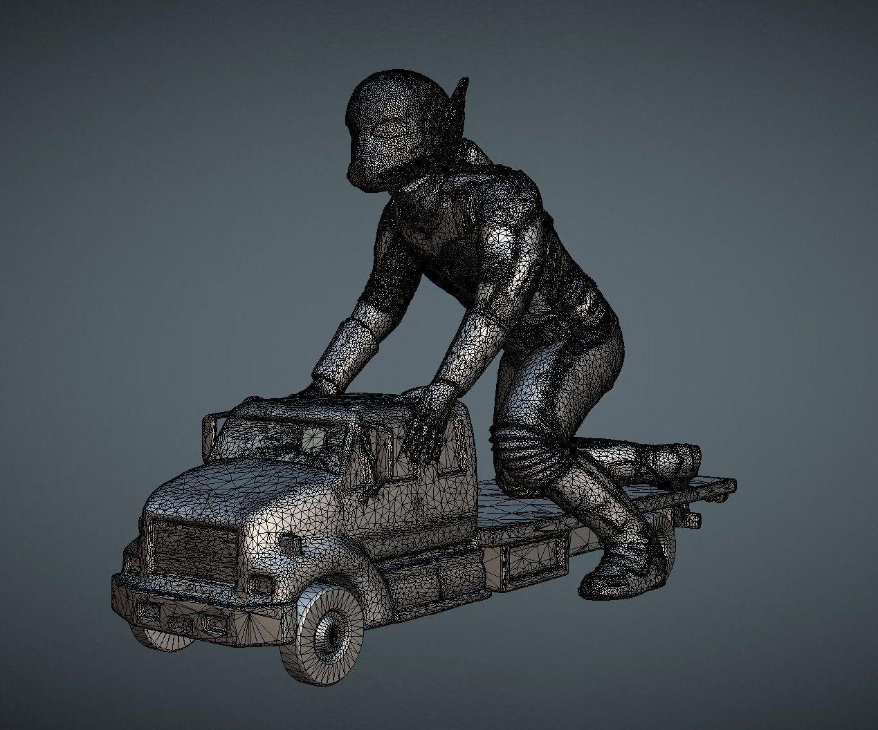 capture_05072018_175054.jpg Download OBJ file ANT-MAN 2 INSPIRITED MODEL • 3D print template, Masterclip