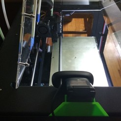 Descargar modelos 3D gratis Montaje Logitech C270 para el Replicador Makerbot Dual, FlashForge Creator Pro, QIDI Tech I, shfqrkhn