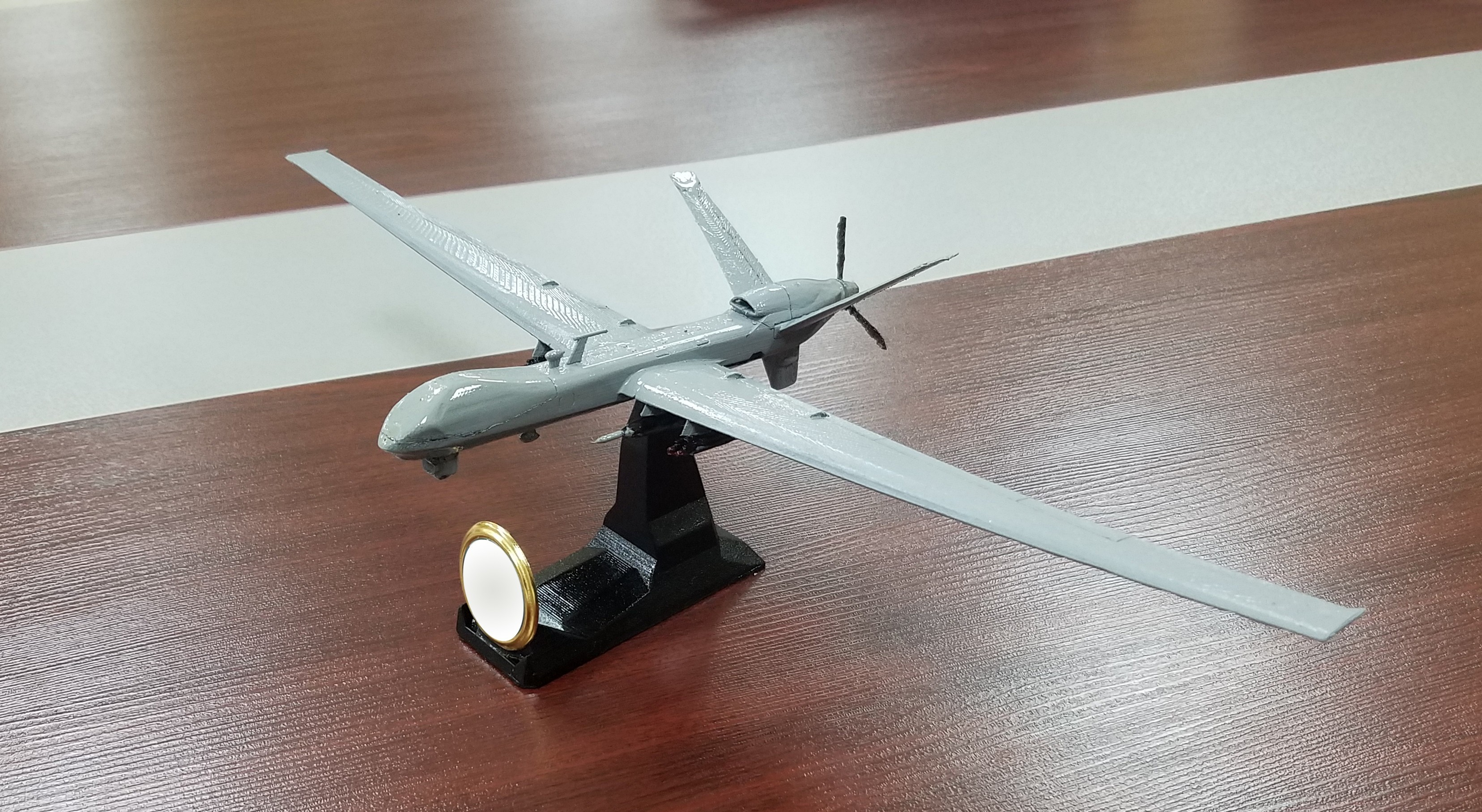 3.jpg Download free STL file UAV:MQ9 Reaper • 3D printable design, speace4me