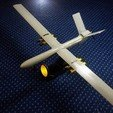 Free 3D printer designs UAV:Shahed 129, speace4me