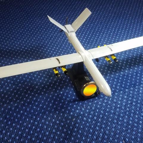 5.1.jpg Télécharger fichier STL gratuit UAV: Shahed 129 • Objet à imprimer en 3D, speace4me
