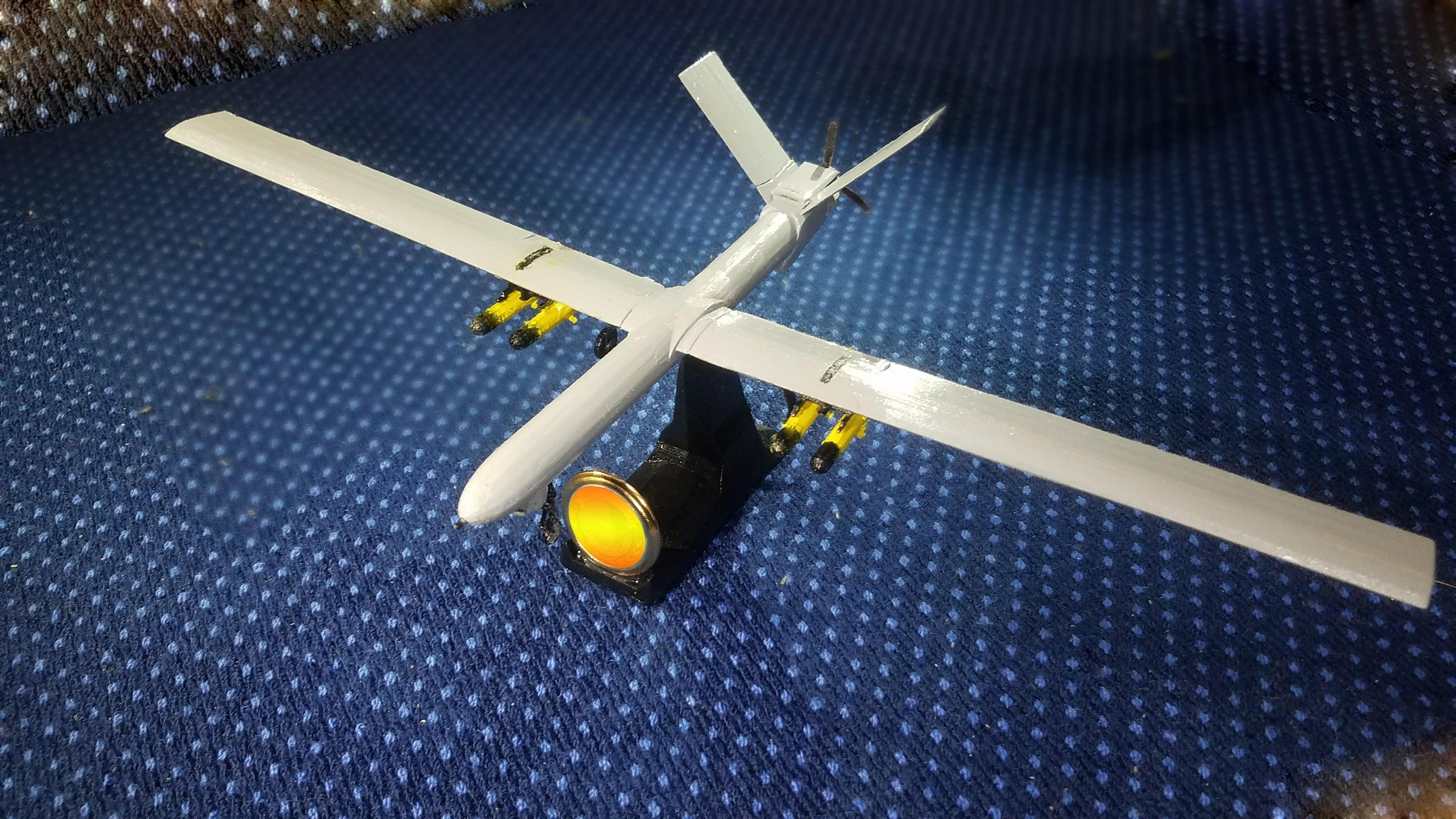 2.1.jpg Télécharger fichier STL gratuit UAV: Shahed 129 • Objet à imprimer en 3D, speace4me