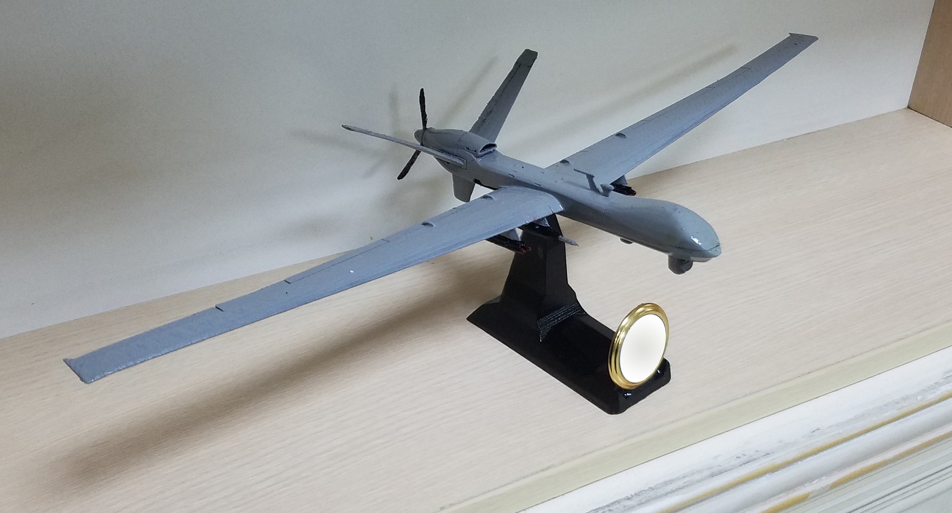 1.jpg Download free STL file UAV:MQ9 Reaper • 3D printable design, speace4me