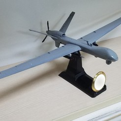 Free 3D printer files UAV:MQ9 Reaper, speace4me