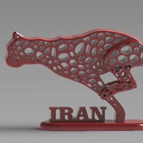 07.jpg Télécharger fichier STL gratuit Guépard iranien • Design pour imprimante 3D, speace4me