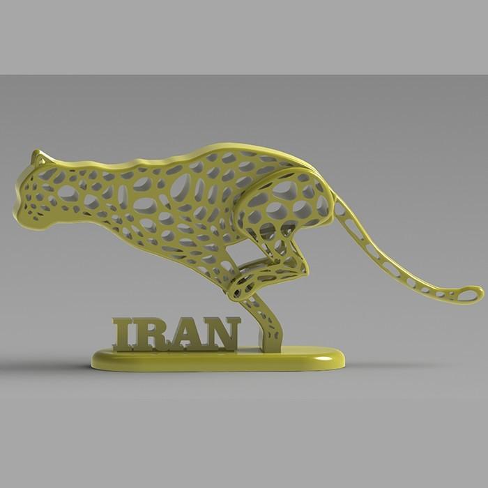 08.jpg Télécharger fichier STL gratuit Guépard iranien • Design pour imprimante 3D, speace4me