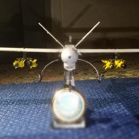 3.1.jpg Télécharger fichier STL gratuit UAV: Shahed 129 • Objet à imprimer en 3D, speace4me