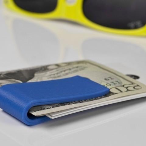 f0532e6237d8 Free 3D printer model Classic Money Clip, fashion3D