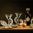 Télécharger objet 3D gratuit Équipement de verre Martini, DDDeco