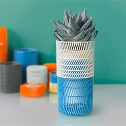 Download free 3D printing files Planter, DDDeco