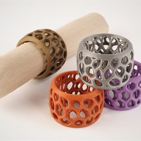 Download free 3D printing designs Macedonia Napkin Rings, DDDeco