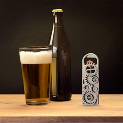 Download free 3D printer model Gear Bottle Opener, DDDeco